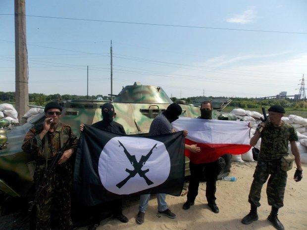 Polscy narodowscy po�r�d separatyst�w w Doniecku