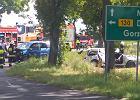 Tragiczny wypadek koło Gorzowa. Dwie osoby nie żyją, 8 rannych, w tym 5 dzieci [ZDJĘCIA]