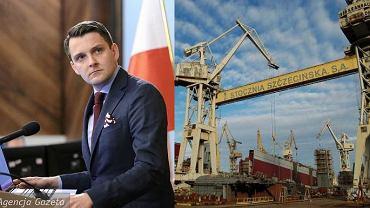 Radny Wojciech Dorżynkiewicz i stocznia w Szczecinie
