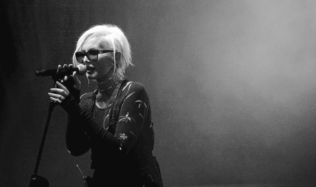 Kora Jackowska na koncercie w 2011 roku