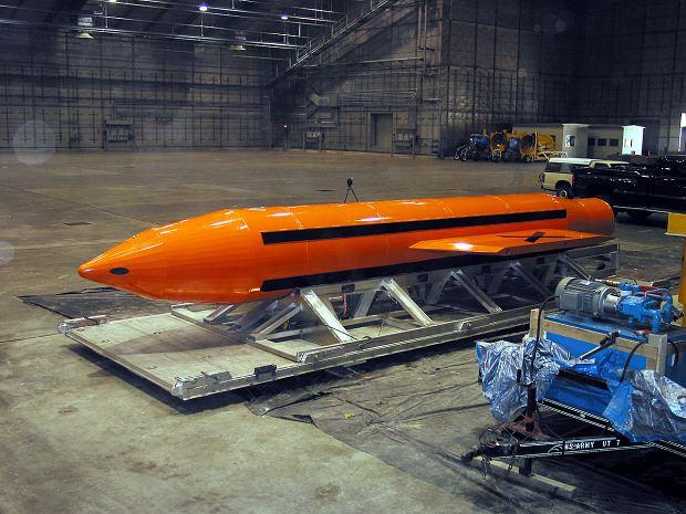 """USA zrzuciły w Afganistanie """"matkę wszystkich bomb"""". Nie użyto jej nigdy wcześniej"""