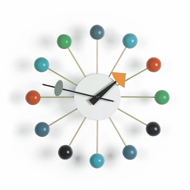Ball Clock Design George Nelson, 1948   Vitra Collections AG