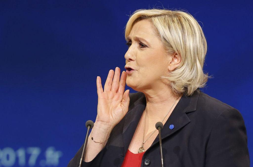 Marine Le Pen (fot. Michel Euler/AP)