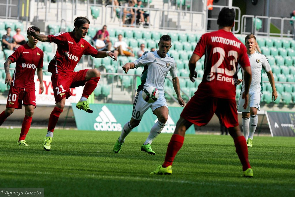 Śląsk - Lechia 0:0. Stojan Vranjes