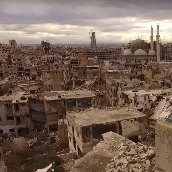 To miasto by�o obl�one przez trzy lata. Dzi� wygl�da jak Warszawa po wojnie