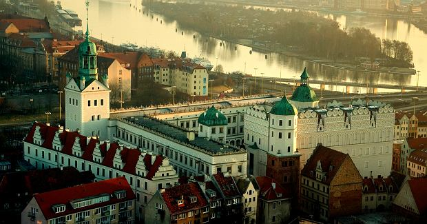 Zamki w Polsce. Zamek Książąt Pomorskich w Szczecinie / cc / Wikimedia / Cezarde62