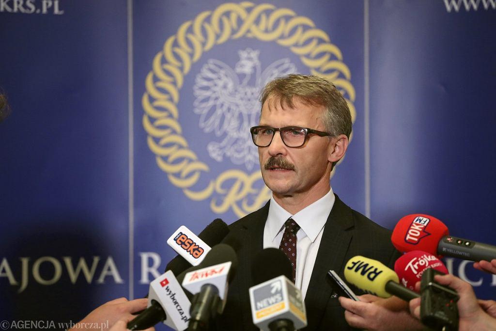 Krajowa Rada Sądownictwa wybrała 12 kandydatów do Izby Dyscyplinarnej SN. Przewodniczący KRS Leszek Mazur
