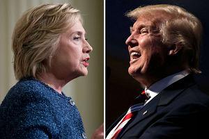 Clinton i Trump. Kto się głupiej odezwie?