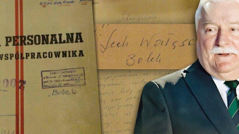 Lech Wałęsa i akta SB