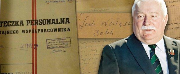 Lech Wa��sa i akta SB