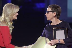 Magdalena Grzebałkowska na gali nagrody Nike: Tę nagrodę dedykuję kobietom. Żyjemy w trudnych czasach