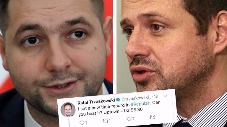 Patryk Jaki i Rafał Trzaskowski