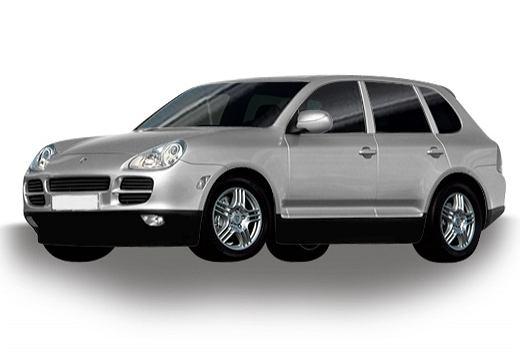 PORSCHE Cayenne 02-07, rok produkcji 2002, kombi, samochód 5-drzwiowy, kolor silver grey