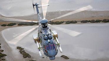 Francuski Caracal wszedł do służby w 2005 roku. Śmigłowiec może zabrać na pokład 28 osób. Jego zaletą jest potężna moc silników - zasięg przeszło 800 km i prędkość maksymalna 324 km/godz. Produkowany jest także m.in. jako śmigłowiec ratowniczy