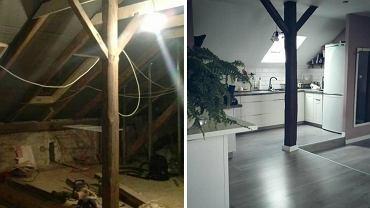 Mieszkanie na strychu
