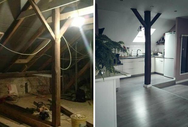 Metamorfoza strychu w domu jednorodzinnym
