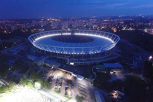 Wspaniała iluminacja Stadionu Śląskiego podczas Biegu dla Słonia