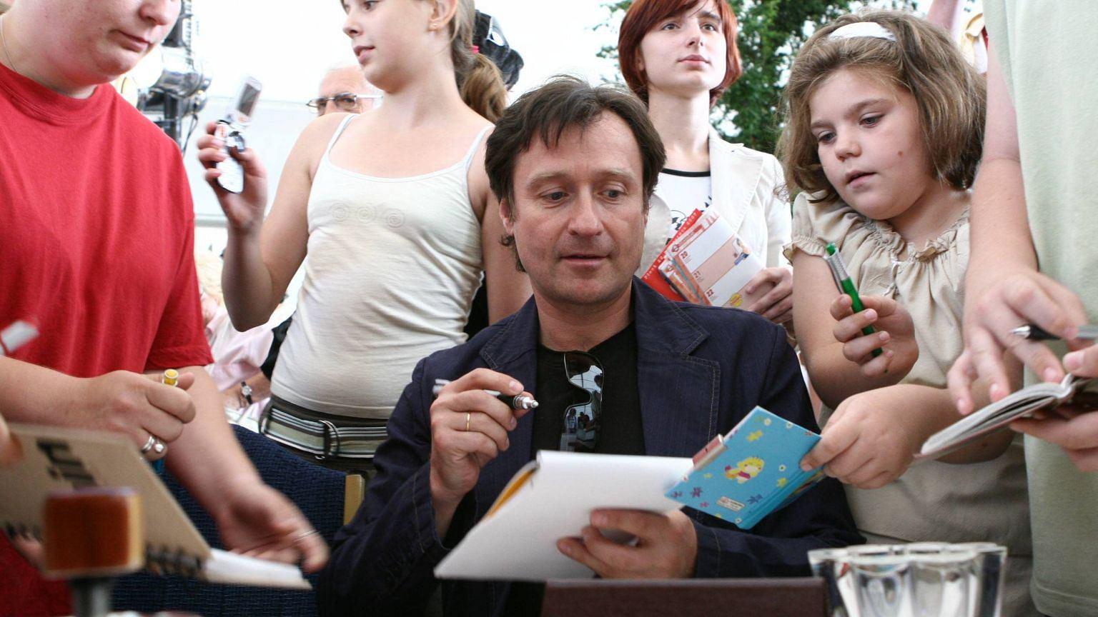 Jacek Kawalec w Płocku. Prowadzenie ''Randki w ciemno'' dało mu ogromną popularność
