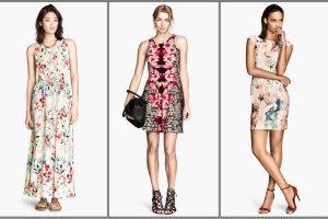 Kwieciste rabaty na sukienkach z H&M