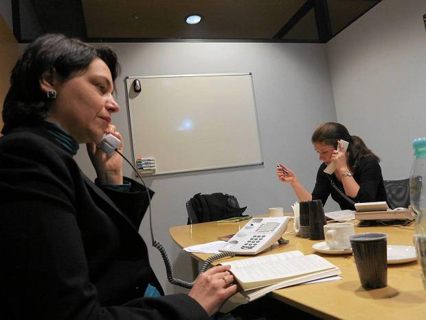 Dy�ur ekspert�w z Pa�stwowej Inspekcji Pracy: relacja