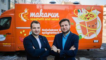 Marcin Szworak i Przemysław Tymczyszyn