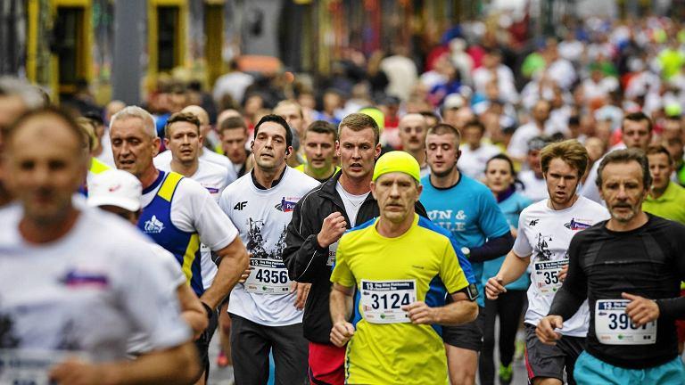 Bieg ulicą Piotrkowską na 10 km w Łodzi