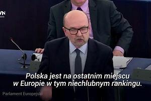 """""""Polska nie potrzebuje waszej obłudnej demokracji"""". W Europarlamencie znów debata o Polsce"""