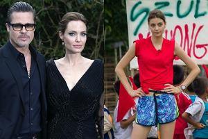 Brad Pitt, Angelina Jolie, Renata Kaczoruk