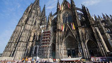 Katedra w Kolonii, której budowa zaczęła się w 1248 r.