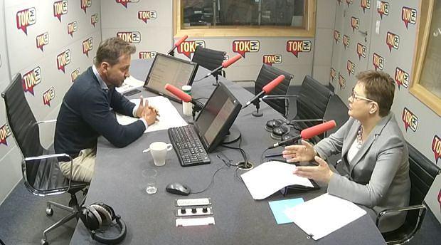 Gościem Piotra Kraśki, w 'Poranku Radia TOK FM', była szefowa Nowoczesnej Katarzyna Lubnauer