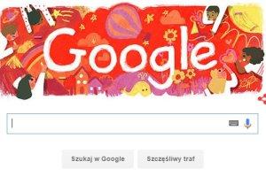 Dzień Dziecka i Google Doodle. Świat narysowany dziecięcą kredką