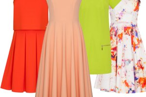 Najpi�kniejsze sukienki z jesiennej kolekcji Mohito