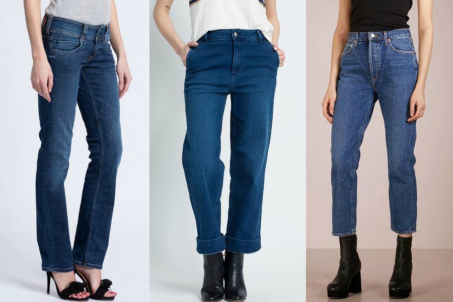 2360535194 Modne jeansy - te modele będziemy nosić w 2018 roku  przegląd