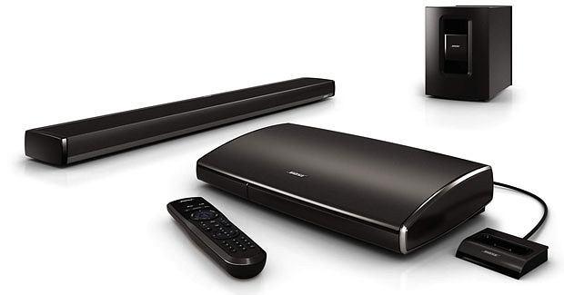 Logo z klasą: Bose, co za dźwięk!, audio, logo z klasą, Soundbar: domowy system rozrywki Lifestyle 135