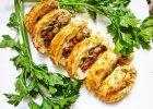 Rolada drobiowa nadziana grzybami i zio�owym camembertem
