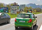 Gminy wzdłuż zakopianki nie chcą reklam przy drogach. Większość przyjmie uchwały krajobrazowe i zakaże billboardów