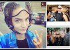 """Zuza Bijoch po Mediolanie przemieszcza si� Vesp�, a Mario Testino robi  """"selfie"""" z Kate Moss i Car� Delevingne [ZDJ�CIA]"""