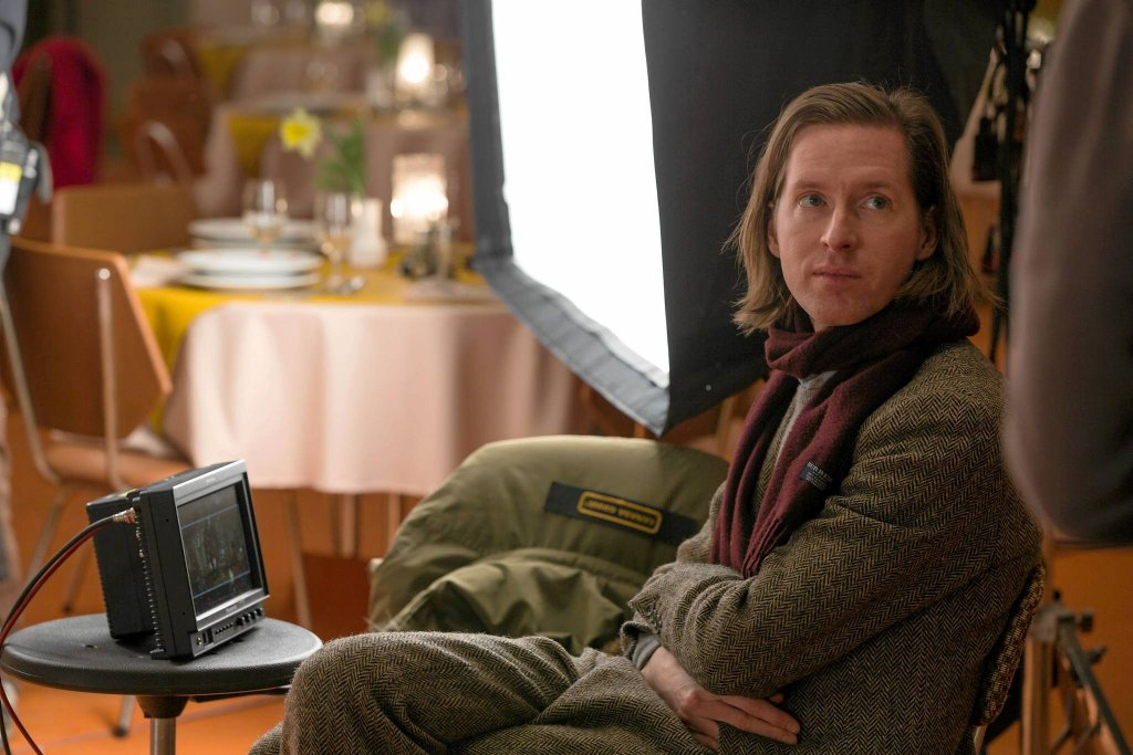 Wes Anderson na planie