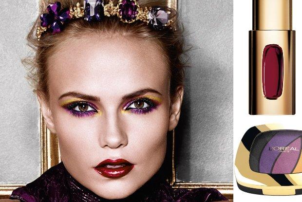 Umaluj si� jak Natasha Poly! L'Oréal lansuje karnawa�owy makija� oczu w stylu disco
