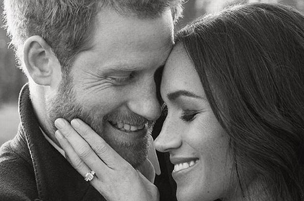 Książę Harry i Meghan Markle w pierwszej sesji narzeczeńskiej / Alexi Lubomirski, Instagram.com/kensingtonroyal