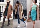 Beżowe płaszcze w trzech modnych stylizacjach