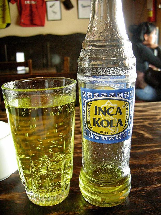 Inca Kola - 'oficjalny smak Peru'
