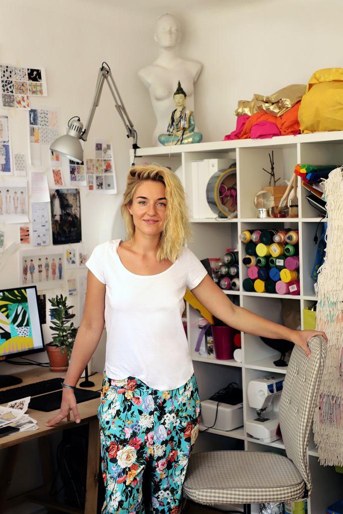 Jasmina Parkita, projektantka marki dzieńdobry i Ambasadorka targów Slow Fashion / mat.pras.