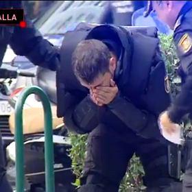 ''Przera�aj�cy'' reporta� o kibolach Legii w Hiszpanii. Prezenter: ''Idioci bez m�zgu''