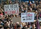 """Aborcja. Protest """"Nie dla torturowania kobiet"""" zorganizowany przez partię Razem. Warszawa, 03.04.2016"""