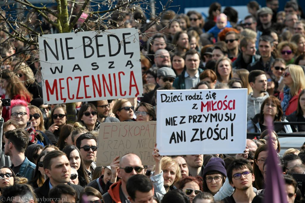 Aborcja. Protest