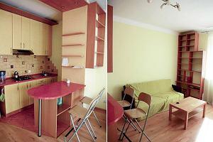 Całkowita metamorfoza salonu z kuchnią za 8100 zł