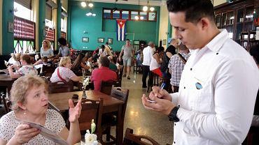 Prywatna restauracja w Hawanie