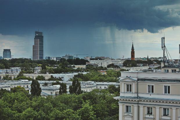 Fotoreportaż w strugach deszczu