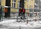Śnieg w Krakowie i Małopolsce. Wypadki na drogach [ZDJĘCIA]